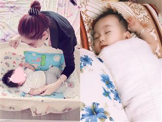 Con trai Lâm Khánh Chi mới 5 tháng tuổi đã được mẹ dát toàn đồ hiệu