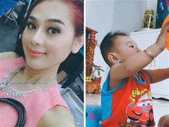 Lâm Khánh Chi khoe con trai 5 tháng tuổi biết ngồi và rất kháu khỉnh
