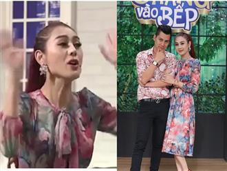 Sốc vì Lâm Khánh Chi đành hanh quát chồng như con, ngúng nguẩy đòi bỏ về khi tham gia chương trình truyền hình