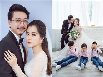 Lâm Vỹ Dạ - Hứa Minh Đạt cưới lại sau 8 năm hạnh phúc, hé lộ điều bất ngờ về thành viên thứ 5