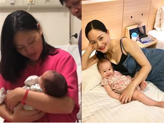 Lan Phương tiết lộ nhiều lần ôm con mới sinh khóc ướt gối trong đêm