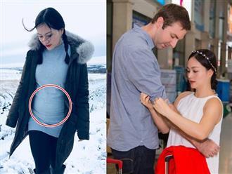 Nửa năm hẹn hò nhưng đã mang thai 5 tháng, Lan Phương lần đầu tiết lộ phản ứng của bạn trai khi biết có con