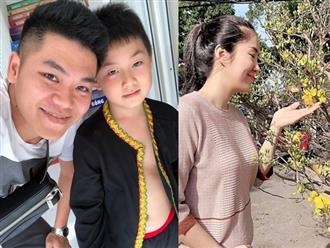 Ngắm loạt ảnh bình yên của gia đình Lê Phương - Trung Kiên trước thềm năm mới