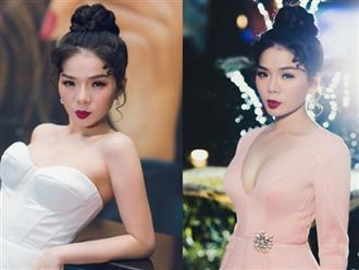 Mặc lại váy cưới sau 7 năm, Lệ Quyên khiến fan xốn xang khi khoe ngực đầy quyến rũ
