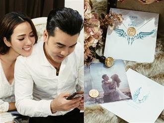 Lộ thiệp cưới cực sang trọng và tốn kém của Ưng Hoàng Phúc và người mẫu Kim Cương