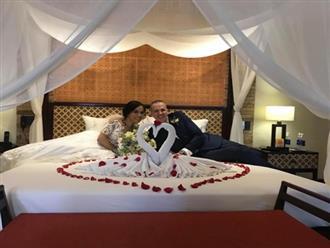 Lý Thanh Thảo gặp sự cố đau đớn ngay trong đêm đầu tiên đám cưới với chồng Tây