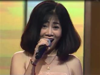 Trước 1 tuần phát hiện ung thư, Mai Phương lộ rõ vẻ tiều tụy và hát yếu ớt trên sóng truyền hình