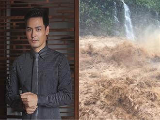 Quyên góp được 700 triệu đồng, MC Phan Anh băng rừng mang lên Hà Giang bất chấp mưa bão hiểm nguy