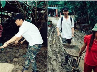 MC Phan Anh phẫn nộ vì bị nói 'đi từ thiện mà sạch sẽ tinh tươm, áo trắng không hề dính bùn'