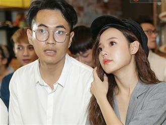 Midu 'dính như sam' với bạn trai tin đồn là bạn thân của Phan Thành trước đám đông