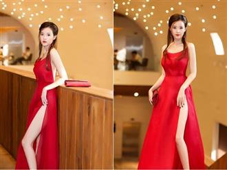 Midu lần đầu diện váy cắt xẻ táo bạo, khoe nhan sắc quyến rũ như nữ thần