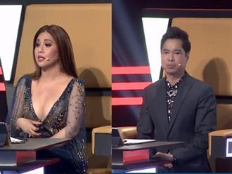 Chê thí sinh 'hát như tát vào mặt', Minh Tuyết bị Ngọc Sơn làm cho bẽ mặt ngay trên sóng truyền hình