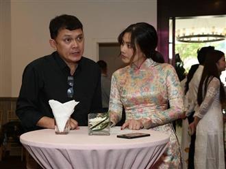 Ngọc Lan nghẹn ngào trong đám giỗ vợ chồng cố nghệ sĩ Thanh Nga