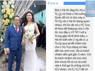 Diễn biến khác vụ Nguyễn Thị Hà bị tố giật chồng: Người thân chú rể bất ngờ nói điều ngược lại