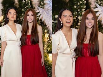 Phạm Quỳnh Anh và Thu Thủy xinh đẹp đứng cạnh nhau sau đổ vỡ hôn nhân