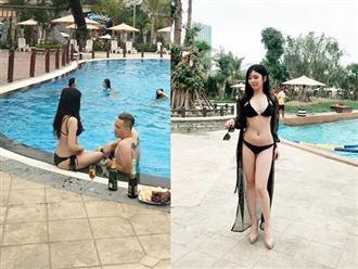 Không sợ bị đánh ghen, Thanh Bi cả gan đăng ảnh 'nóng bỏng tay' bên Việt Anh Người phán xử