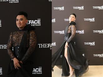 Thí sinh nhại phong cách 'thánh catwalk' tung váy lộ hàng gây sốc ở vòng casting The Face