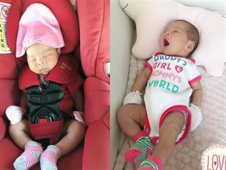 Những hình ảnh hiếm hoi của con gái Thanh Thảo sau gần một tháng chào đời