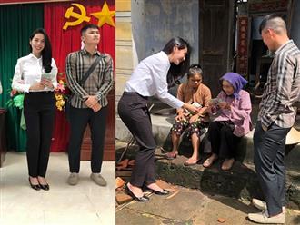 Vợ chồng Thủy Tiên đi Phú Yên trao 550 triệu đồng cho người dân bị thiệt hại do bão số 12: Nhà nhiều nhất 42 triệu, ít nhất 1 triệu