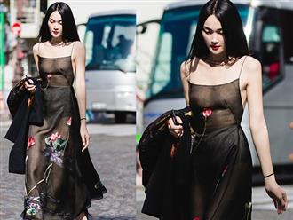 Nhờ 'thả rông' đi dạo ở Paris, Thùy Trang Next Top may mắn được mời vào công ty của Kate Moss