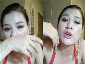 Trang Trần livestream khóc nghẹn sau tuyên bố 'Showbiz Việt không có cô gái nào còn trinh'