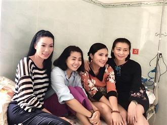 Á hậu Trịnh Kim Chi vui mừng chia sẻ loạt ảnh tươi tắn của Mai Phương và nghệ sĩ Lê Bình
