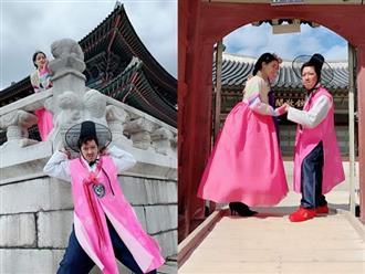 Ngắm loạt ảnh trăng mật cực lầy lội của Trường Giang - Nhã Phương ở Hàn Quốc