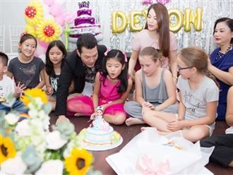 Ly hôn nhiều năm, Trương Ngọc Ánh bất ngờ tái hợp chồng cũ trong tiệc sinh nhật con gái
