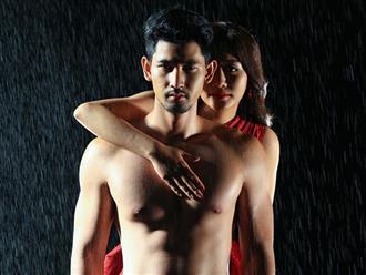 Không còn sợ bạn trai ghen tuông, Văn Mai Hương thoải mái ôm ngực trần nóng bỏng của mỹ nam người Thái
