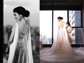 Váy cưới của Lan Khuê giá 500 triệu nhưng đây mới là điều gây choáng nhất