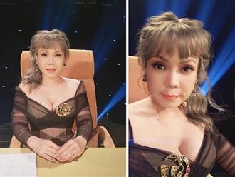 Việt Hương khiến khán giả giật mình vì lộ mặt khác lạ, vòng 1 khủng như sắp nổ tung