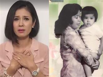 Việt Trinh khóc ướt gối, ước thời gian quay lại để chuộc lỗi với mẹ