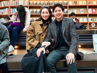 Vợ chồng Hoa hậu Đặng Thu Thảo trốn con sang Hàn Quốc hâm nóng tình yêu