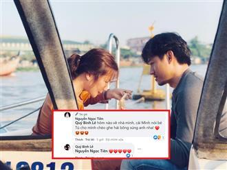 Ngọc Tiền lần đầu chia sẻ chuyện tình đẹp với chồng trẻ Quý Bình, chốt hạ 'Yêu anh, không ngừng yêu anh!'