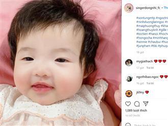 Hình ảnh của bé Winnie khiến dân mạng trầm trồ: Bản sao y đúc của Ông Cao Thắng đây rồi!