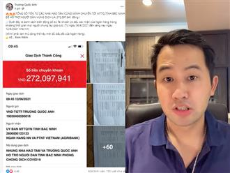Kêu gọi 272 triệu từ thiện, TikToker Trương Quốc Anh tung hẳn 60 trang sao kê, dân mạng hỏi xoáy '14 tỷ thì bao nhiêu trang A4'?