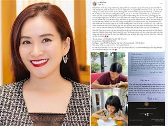 Bà xã Bình Minh kêu gọi trẻ em viết thư và cộng đồng ủng hộ giúp các bé trong khu cách ly