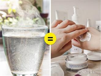 Điều gì sẽ xảy ra với làn da khi bạn uống nước ấm mỗi ngày?