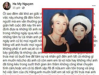 'Người yêu cũ của Hoài Linh' tuyên bố ủng hộ bà Phương Hằng, tiết lộ sẽ làm một việc có thể khiến Hoài Linh 'tức giận hết cuộc đời'