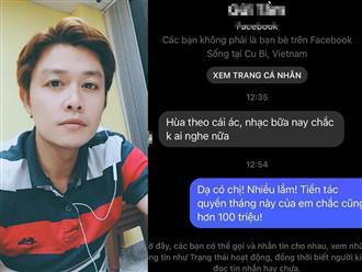 Sau chia sẻ về bà Phương Hằng, nhạc sĩ Nguyễn Văn Chung bị dân mạng 'xỉa xói': 'Hùa theo cái ác, nhạc bữa nay chắc không ai nghe nữa'