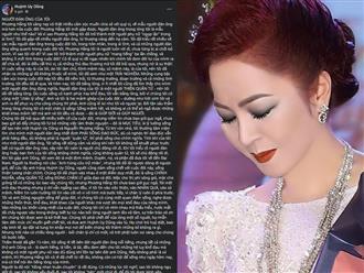 Bà Phương Hằng tiết lộ niềm riêng khi 'ngụp lặn' trong ái tình: 'Những thứ anh Dũng có là danh tiếng, tiền tài, đều đem đến cho tôi khổ đau không người phụ nữ nào chịu được'