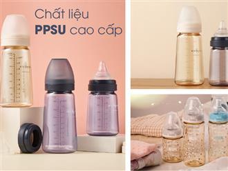 5 lý do mẹ Việt chuộng bình sữa PPSU cho bé
