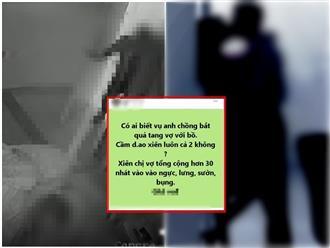 Xôn xao vụ 'bắt ghen' kinh hoàng: Chồng bắt tại trận vợ cùng nhân tình đang 'nhún nhảy', lao vào 'xử đẹp' cả đôi