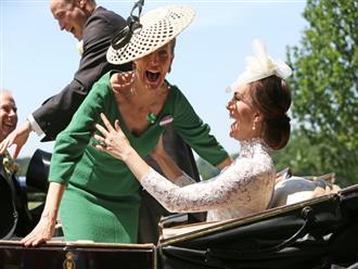 """Hé lộ thành viên hoàng gia khiến Công nương Kate chẳng ngại """"đánh mất hình tượng"""", bộc lộ hết cảm xúc khi gặp nhau"""