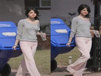 Xinh đến mức mặc xuề xoà, chân đất đi đổ rác cũng xinh là đây: Selena Gomez!