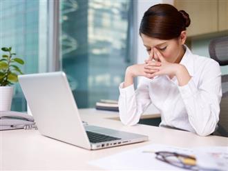 Dân văn phòng dễ bị rối loạn nội tiết chỉ vì 6 thói quen này