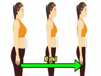 Không có thời gian tới phòng gym? 3 bài tập bodyweight 10 phút giúp bạn giảm cân tại nhà