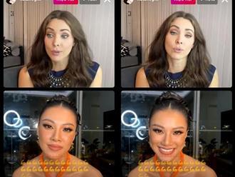 """""""Choáng váng"""" khi nghe Á hậu Kim Duyên bắn tiếng Anh trước thềm Miss Universe 2021"""