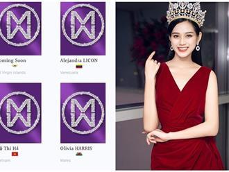Netizen Việt nổi đóa vì trang chủ Miss World viết sai chính tả tên Hoa hậu Đỗ Thị Hà