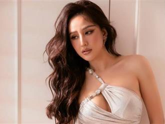 Mai Phương Thúy diện váy xẻ cao vút, khoe vẻ nóng bỏng đẹp tựa nữ thần ở tuổi 33